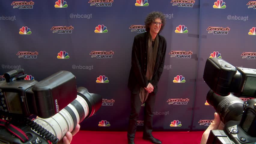 Hollywood, CA - April 22,2014: Howard Stern at America's Got Talent Los Angeles Event 2014, Dolby Theatre